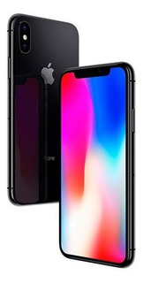 Apple iPhone X A1901 64gb Tela Oled 5.8 12mp/7mp Ios Cinza
