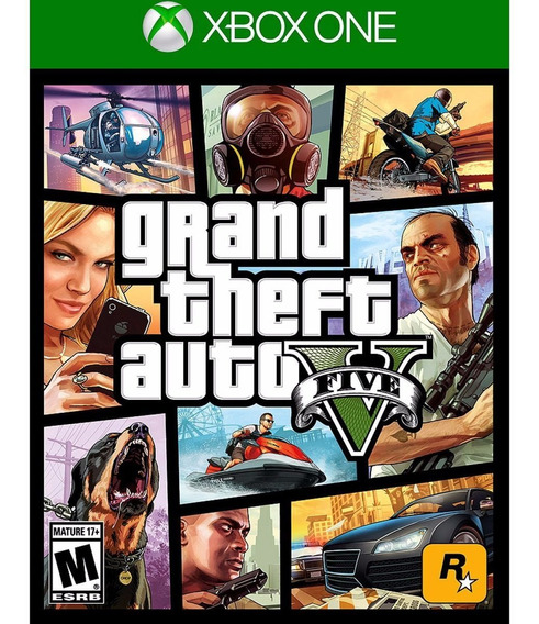 Gta 5 - Grand Theft Auto V - Xbox One Leg. Portugues
