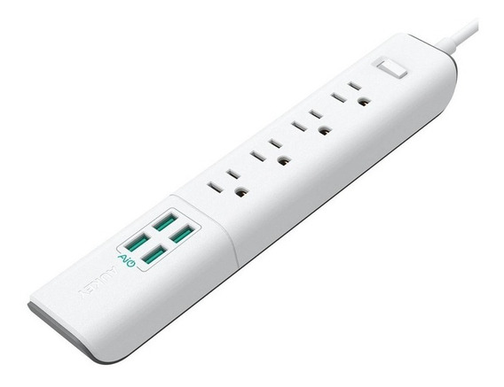 Cargador Usb Surge Protector 4-port 20 W/4 A Pa-s8 Aukey
