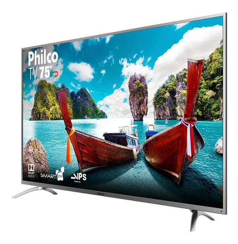 Imagem 1 de 6 de Smart Tv Philco Ptv75e30dswnt Led 4k 75  110v/220v