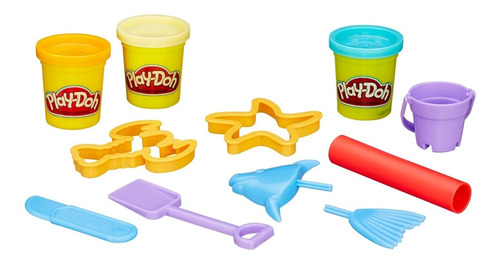 Play-doh Set De Juego Mini Cubeta - Cubeta De Playa
