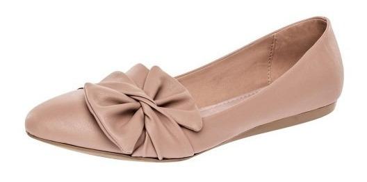 Zapato De Piso Dama Clasben Beige 75793 22-26 Envió Inmediat