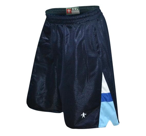 Short Baller Brand Bassy Azul Basketball Bermuda
