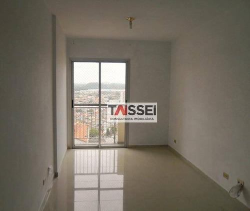 Apartamento Com 2 Dormitórios À Venda, 60 M² Por R$ 388.000,00 - Vila Guarani (zona Sul) - São Paulo/sp - Ap8008
