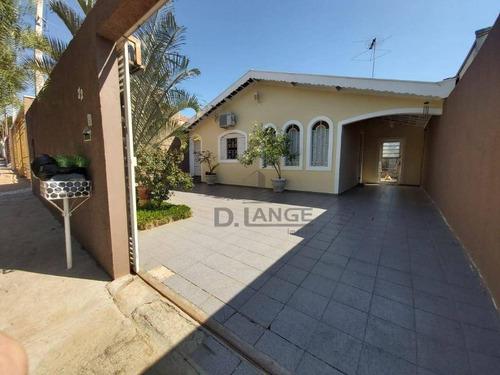 Casa Com 3 Dormitórios À Venda, 131 M² Por R$ 435.000,00 - Parque Tropical - Campinas/sp - Ca14581
