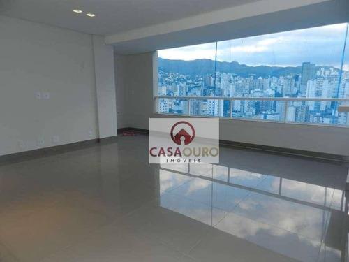Apartamento Com 4 Quartos À Venda - Serra - Belo Horizonte/mg - Ap1005