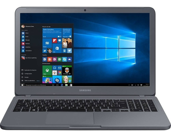 Notebook Samsung Intel Core I3 7 Ger 4gb 1tb - Black Friday