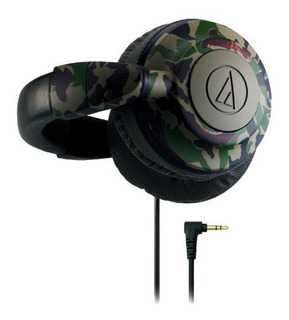 Audio Technica Ath-bb500 Cm) Diseño De Camuflaje Color Cafe