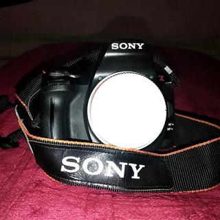 Cámara Profesional Sony A390Con Dos Lentes