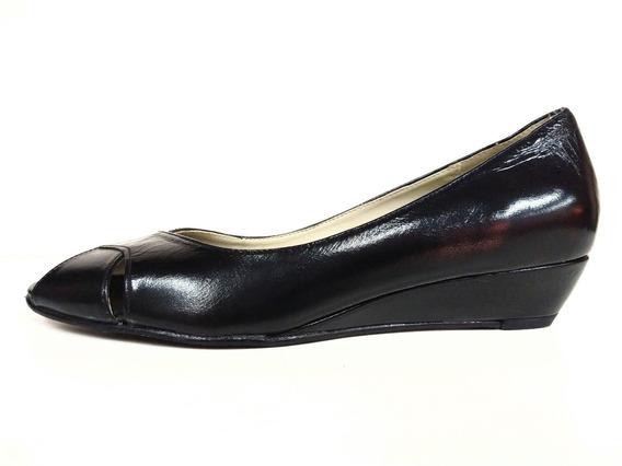 Lady Stork Brunilda Zapatos Dama Taco Chino Cuero Vacuno