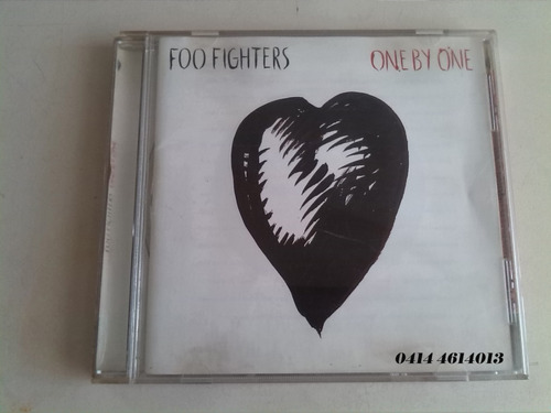 Cd Foo Fighters  One By One Original