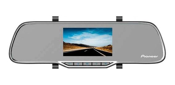 Câmera Automotiva Pioneer Vrec-200ch Retrovisor Tela 4.3