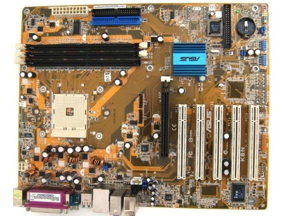 Placa Mãe Asus K8n Nova Garantia Socket 754 Chipset Nvidia