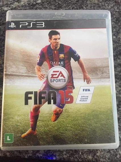 Fifa 2015 - Ps3 Original Em Mídia Física