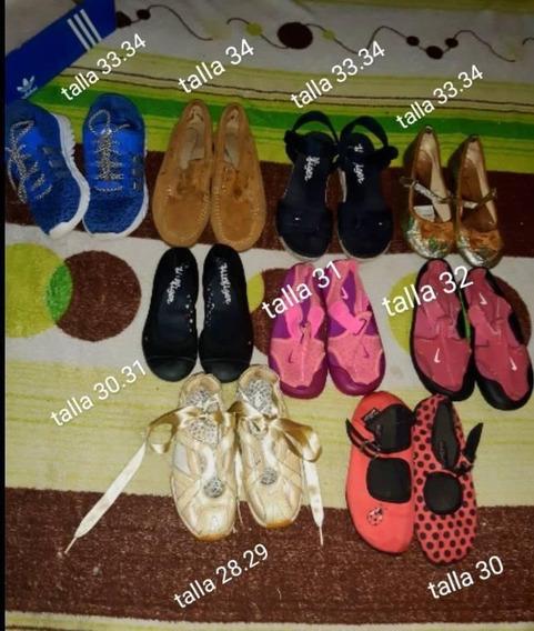 Zapatos De Niña adidas, Nike, Tommy Chocolatina