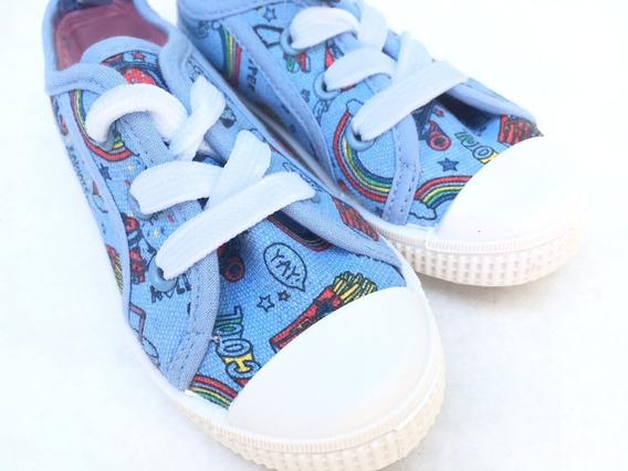 Zapatillas De Lona Con Dibujos- Primark