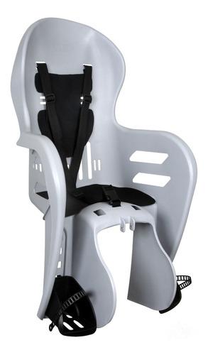 Imagem 1 de 5 de Cadeira Cadeirinha Traseira Bicicleta Fun Bike Kalf Cinza