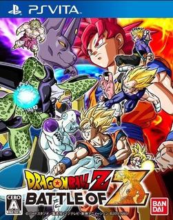 Dragon Ball Battle Of Z Psvita Version Japonesa