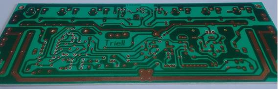 Kit 10 Placa Lisa Pra Montar Amplificador De Áudio 450w Ab