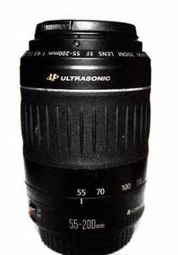 Lente Canon 55-200 Seminova