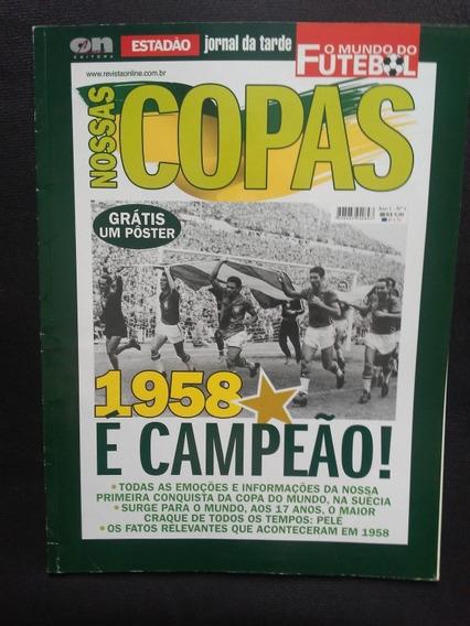 Nossas Copas O Estadão (5 Volumes + 5 Posters)