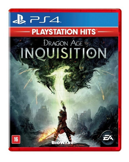Ps4 - Dragon Age Inquisition - Mídia Física Original C/ Nf