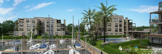 Departamento 4 Ambientes Barrio Náutico Canal - Villanueva