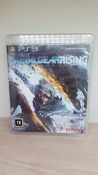 Metal Gear Rising Revengeance Ps3 Novo Lacrado De Fábrica