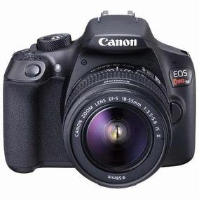 Câmera Canon Eos Rebel T6 18-55mm Nf+garantia