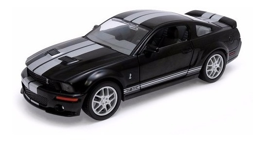 Shelby Gt500 Mustang Yatming 1:24 Carros Miniaturas