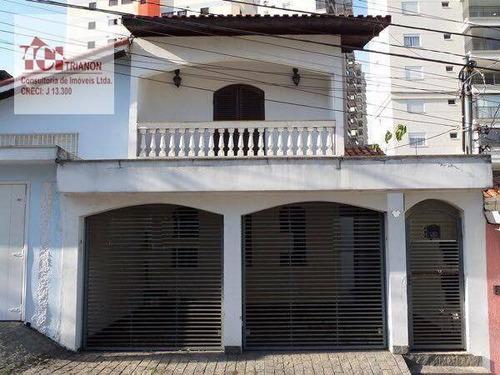 Imagem 1 de 16 de Casa Com 4 Dormitórios À Venda, 224 M² Por R$ 690.000,00 - Vila Boa Vista - Santo André/sp - Ca0200