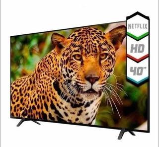 Smart Tv 40 Kanji Hd Android Tv Netflix Youtube Loft Hogar