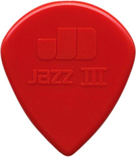 Dunlop Nylon Jazz Iii  Puas Para Guitarra Rojo 6pack