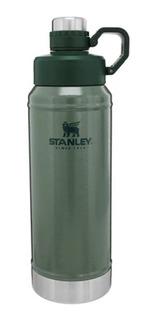 Botella Termo Agua Fría Stanley Classic Series Verde 1litro