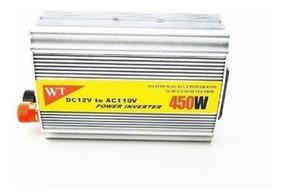 Conversor Inversor De Tensão 450w Veicular 12v Para 110v Pro