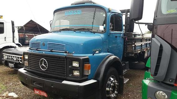 Caminhão Mb 2013 6x2 Carroceria - Ano 1977