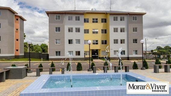 Apartamento Para Venda Em Colombo, São Gabriel, 3 Dormitórios, 1 Banheiro, 1 Vaga - Col0088