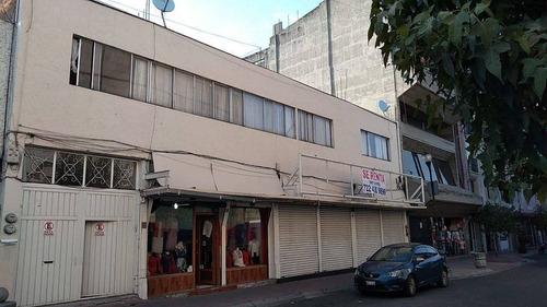 Imagen 1 de 21 de Edificio En Venta Con Departamento Y Locales Comerciales Toluca Centro