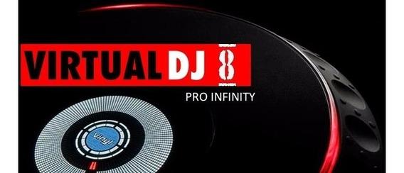 Virtual Dj 8 Pro Infinty Todas As Controladoras + Brinde