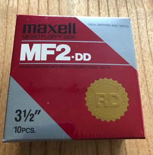 Caja De Disquettes De 2dd Double Density Amiga, Macintosh