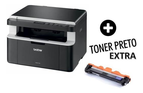 Multifuncional Brother Dcp-1602 + 01 Cartucho Toner Tn 1060