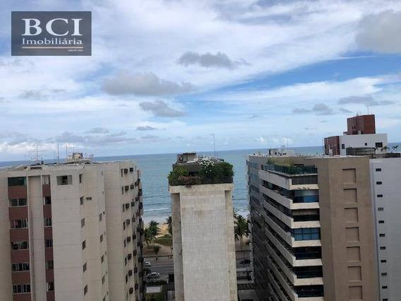 Apartamento Com 4 Quartos, 3 Suites, 2 Vagas, Para Alugar, 147 M² Por R$ 4.000/mês + Taxas - Boa Viagem - Recife/pe - Ap10101