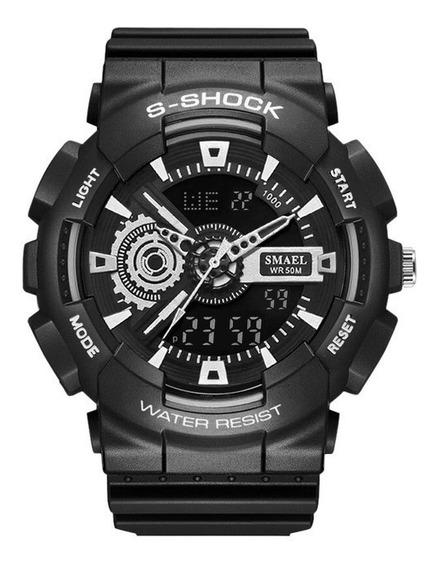 Relógio Esportivo Masculino Smael 1027b