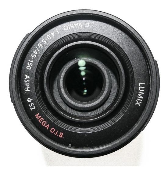 Lente Panasonic Lumix 45-150mm Ois - 4/3 -g Vario 45 F/4-5.6