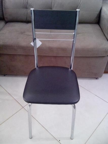Cadeira De Inox Cromado