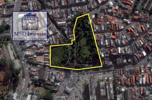 Terreno A Venda No Bairro Vila Rio De Janeiro Em Guarulhos - - 496-1
