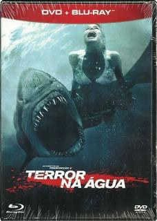 Dvd + Blu-ray Terror Na Água Sara Paxton Original Lacrado