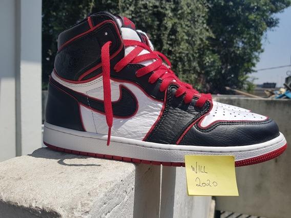 Tenis Nike Air Jordan 1 Bloodline Tamanho 45