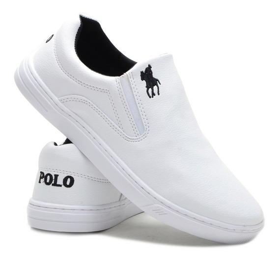 Sapatenis Tenis Masculino Polo Plus Original Barato Promoção