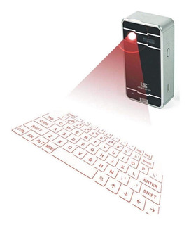 Teclado Laser Virtual Inalambrico Bluetooth Celular Tablet